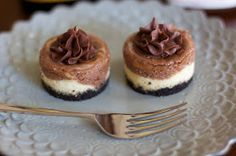 Angie's Sweet Natured Treats: Mini Nutella-Frangelico Cheesecake Bites