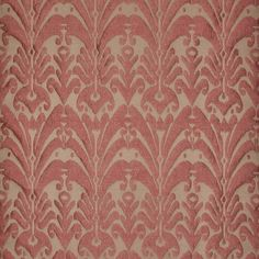 TRADITIONAL GEORGIAN FLORAL GEOMETRIC DIAMOND TAPESTRY WEAVE UPHOLSTERY FABRIC