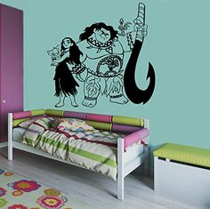 moana themed girls bedroom   cailyns room in new house   pinterest