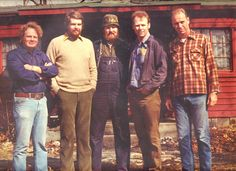 The Corey brothers in 1976.  L to R: Jack, Steve, Jim, Tom,& Dave