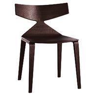 Saya, sedia in legno di Lievore Altherr Molina