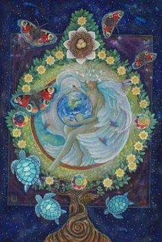 The World by Star Tarot