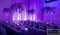 Beautiful guest table decor with cascading florals, candles and votives by Event Design Bat Mitzvah Themes, Wedding Decorations, Table Decorations, Event Company, Theme Ideas, Corporate Events, Event Design, Avatar, Florals