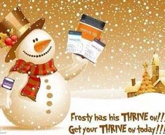 Give yourself a chance to fight the holiday weight gain with Thrive. Jennzthrivin.le-vel.com