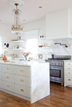 Any fab gal would love to have a chandler in their kitchen.