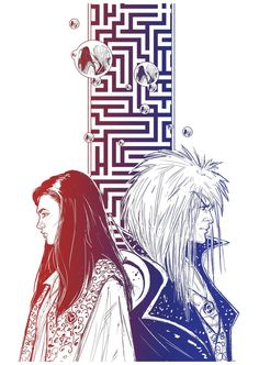 Labyrinth by Robbertopoli on deviantART Can't go wrong with gradient and symbolism!