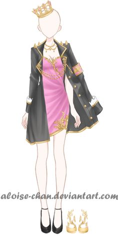 [OPEN] Commander Queen Armour Adoptable by Aloise-chan.deviantart.com on @DeviantArt