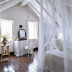 DIY:: 25 Coastal Cottage Romantic Rooms (Tips, Ideas, and Tutorials) from Coastal Living