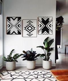 3 Piece Wall Art, Diy Wall Art, Wall Art Sets, Wall Art Decor, Canvas Wall Art, Wall Décor, Diy Canvas, Wall Art Boho, Nursery Decor