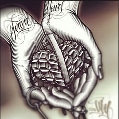My heart is forever yours Art Chicano, Chicano Art Tattoos, Chicano Drawings, Cholo Art, Body Art Tattoos, Tattoo Drawings, Sleeve Tattoos, Chicano Love, Og Abel Art
