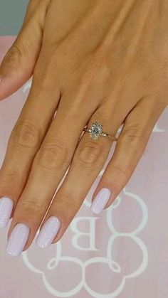 Simple Engagement Rings Oval, Oval Solitaire Engagement Ring, Beautiful Engagement Rings, Oval Wedding Rings, Wedding Ring Designs, Diamond Wedding Bands, Oval Diamond Rings, 1 Carat Diamond Ring, Gifts For Engaged Friend