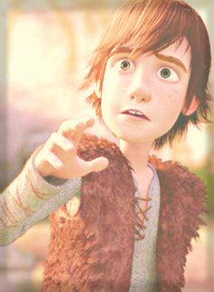 Hiccup's face of wonder.