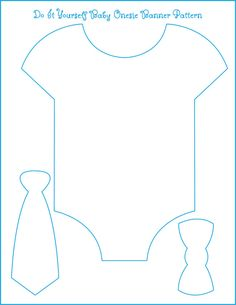 Eight Examples of Baby Shower Themes - With Free Onesie Banner Template