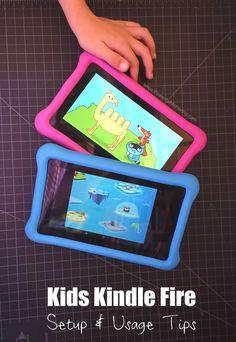Kids Kindle Fire Setup Usage Tips Amazon Kids Tablet, Amazon Kindle Kids, Best Tablet For Kids, Kindle Fire Apps, Kindle Fire Tablet, Toddler Apps, Toddler Fun, Learning Apps, Kids Learning