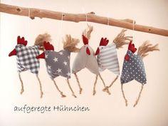 Frühjahrs-Oster-Deko+5+aufgeregte+Hühnchen+Huhn+von+uggla+deko+mit+eigensinn+auf+DaWanda.com: