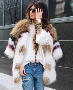 Most fabulous fur coat around.