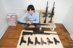 Armed America: Portraits of Gun Owners in Their Homes a book by Kyle Cassidy