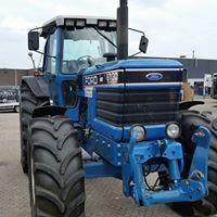 Big Tractors, Ford Tractors, Classic Tractor, New Holland Tractor, Heavy Equipment, Farming