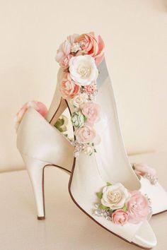 bloemen toevoegen aan je schoenen