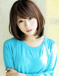 ふわっとナチュラルで可愛いミディアムヘア☆|アフロートジャパン 【銀座の美容室】のヘアスタイル