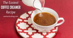 The easiest coffee creamer recipe