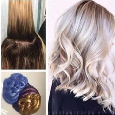 """2,822 To se mi líbí, 60 komentářů – MODERN SALON (@modernsalon) na Instagramu: """"This client came in for a touch up but @constancerobbins killed the brass and gave a dose of fab!…"""""""