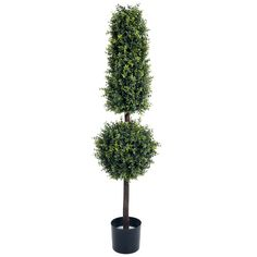 Trademark Romano 5 foot Hedyotis Topiary Artificial Tree (Artificial Tree)