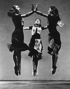 Traveling through history of Photography...Martha Graham, 'Celebration' (Trio), photograph by Barbara Morgan, 1937.