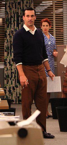 Jon Hamm as Don Draper in