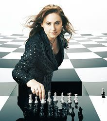 """Judit Polgár: raised to be a chessmaster. Her most significant legacy has been to explode the myth that men are """"naturally"""" better than women at chess. During Judit's career she has inflicted defeat on Boris Spassky, Garry Kasparov, and nine world champions. """"When I started playing, there was an even bigger gap between men and women in chess than there was in most physical sports,"""" she says. """"Generally it was not accepted that women are able to reach the same level. Obviously I don't agree…"""