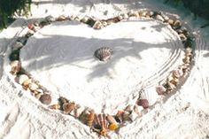 A seashell theme wedding by the seashore Beach Wedding Bouquets, Beach Wedding Decorations, Ceremony Decorations, Beach Weddings, Wedding Ideas, Simple Beach Wedding, Dream Wedding, Wedding Things, Beach Gowns