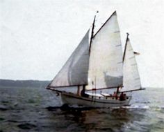 Thora - the Tahiti ketch built by my parents on which I spent my summers from birth until after college, when I joined the Army & travelled to Asmara.