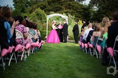 Pink Flamingos!--maybe this could be a new profession for me-flamingo wedding planner-sounds like fun