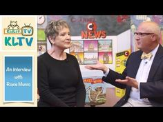 KidLit TV's Sneak Peek   Roxie Munro Interview with Rocco Staino - YouTube