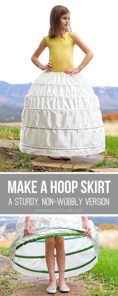 hoop skirt!  (Bo-Peep....)