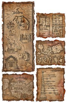 A Bunch of Ingame-Maps #2 by SteffenBrand.deviantart.com on @DeviantArt