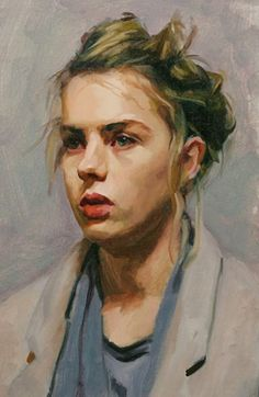 Image Source: 40 Beautiful Acrylic Portrait Paintings Ideas Source greenorc.com