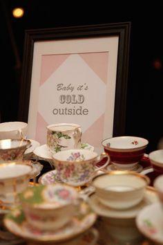 Vintage Wedding Dessert Tea