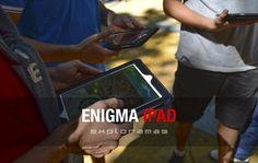 VIDEO: Convertimos el Casco Antiguo de Marbella en un tablero de juegos lleno de secretos por descubrir y pruebas que superar. Ahí hicimos la semana pasada nuestro Enigma iPad, una experiencia que ya hemos organizado en Madrid, Barcelona, Málaga, Alicante, Sevilla,… y hasta en ¡Princeton!