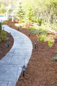 making a wheelchair accessible garden path