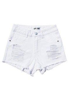 Shiver me กางเกงยีนส์ขาสั้น ฮิดเด้น อาเจนด้า | ZALORA THAILAND created by #ShoppingIS