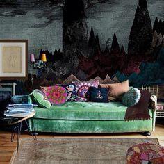 blue wall decor - Поиск в Google