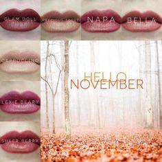 Great Lipsense colors for November! Best Beauty Tips, Beauty Hacks, Senegence Makeup, Senegence Products, Cool Skin Tone, Glam Doll, Summer Makeup, Fall Makeup, Perfect Makeup