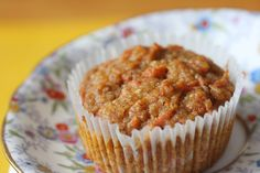 gluten free/egg free/ dairy free/ corn free/ xanthum free carrot muffins