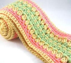 Spring Scarf Tween Teen Womens Crochet Scarf. $50,00, via Etsy.