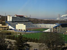 Memorial Stadium, The University of Kansas. Ku Football, Football Stadiums, University Of Kansas, Kansas City, Lawrence Kansas, Cathedrals, Places Ive Been, College, Rock