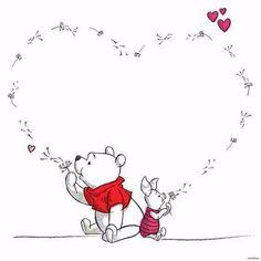 Pooh and piglet Pooh and piglet – Disney Crafts Ideas Winne The Pooh, Cute Winnie The Pooh, Winnie The Pooh Quotes, Winnie The Pooh Friends, Winnie The Pooh Drawing, Cute Disney, Disney Art, Disney Dream, Disney Drawings