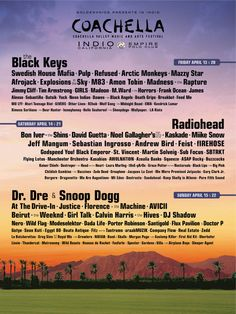 I haven't been to this concert, but I have been to Coachella and Indio.
