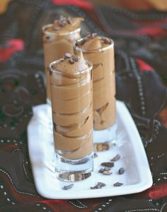 Chocolate Pumpkin Pots de Creme (Vegan, Dairy Free, Sugar Free)