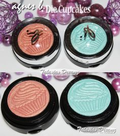 agnes b. Monobulle eyeshadow Peachy-Cupcake und Minty-Cupcake http://www.talasia.de/2013/07/12/agnes-b-cupcake-collection-mit-verlosung/